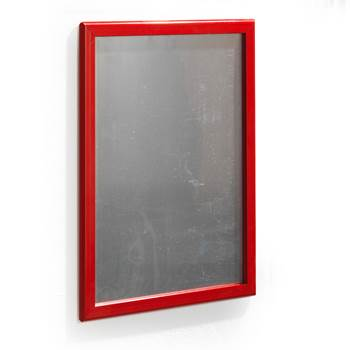 Poster frame, poster, 700x1000 mm, red