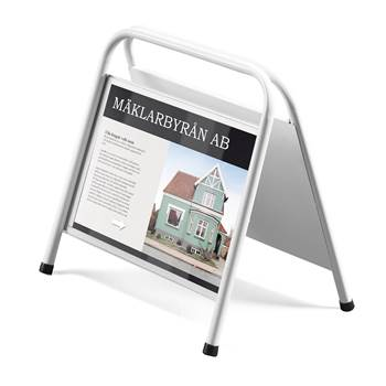 Plastic cover for Mini A sign stand, 420x297 mm
