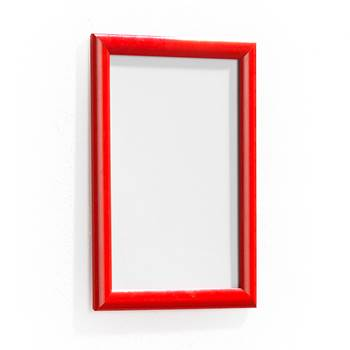 Poster frame, A4, 210x297 mm, red