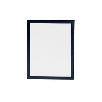 Self-adhesive magnet frame, A4 pack of 2, black