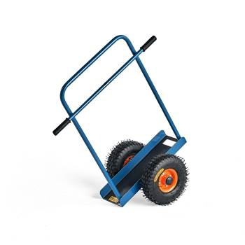 Board trolley, handle, 200 kg load, 500x380x900 mm