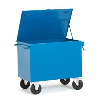 On-site secure tool trolley