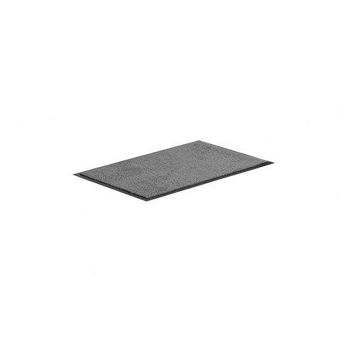 Sisääntulomatto, 900x600 mm, harmaa