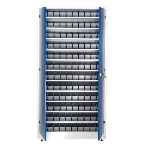 Small parts cabinet: 1900x1000x400mm: 120 bins