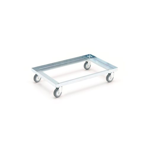 #en Box trolley, 600x400mm, 4 castors