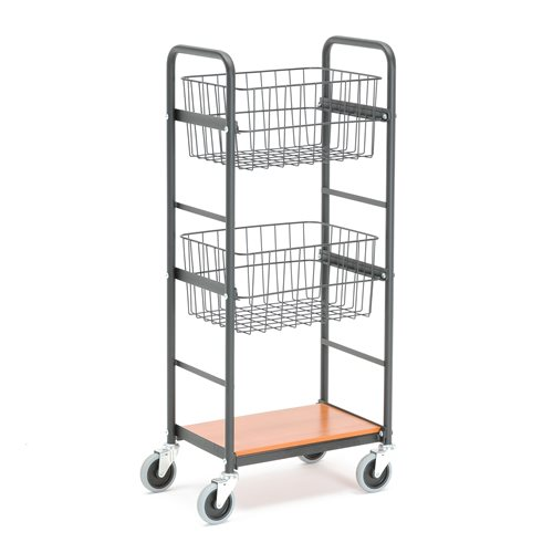 Wózek z koszykami