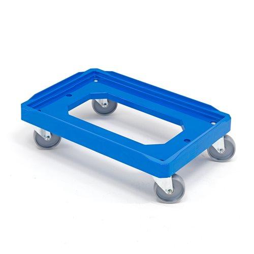 Plastikowa platforma z niepełnym dnem