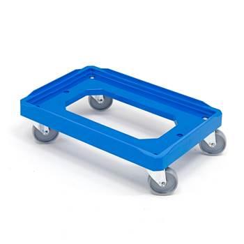 Plastikowa platforma z niepełnym dnem D 620 x S 420 mm