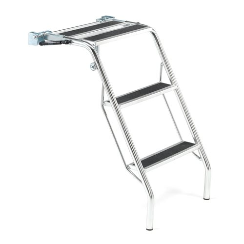 Ladder for shelf trolleys