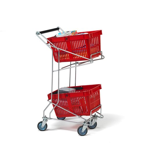 """Carry"" basket trolley"