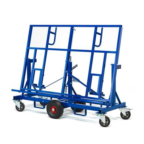 Wózek do ciężkich płyt budowlanych