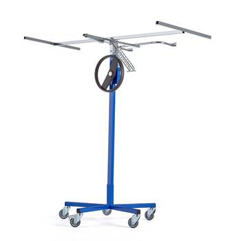 """Lyfta"" mobile board lift with tilt function"