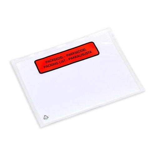 Pakkausluettelotasku, koko: C6, 1000 kpl