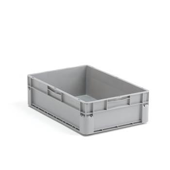 Plastback Euro, 32 liter, 600x400x175 mm, grå