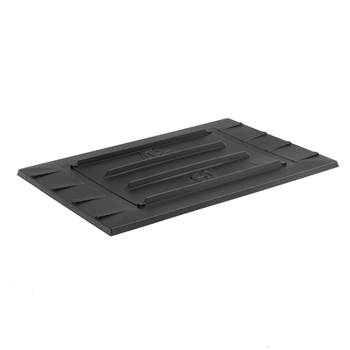 #en Pallet collar lid, 1200x800 mm, black