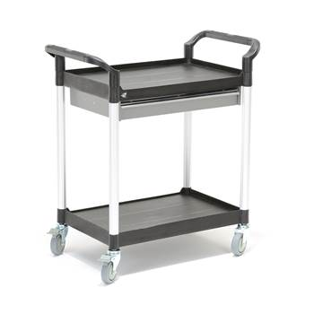 Service trolley with drawer: 850x480x950 mm