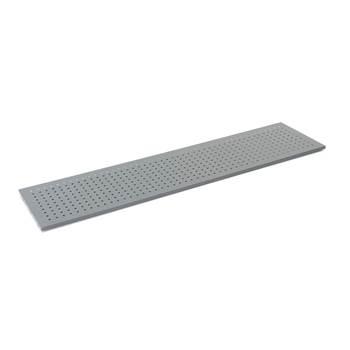 Verktygspanel, 1783x450 mm, grå