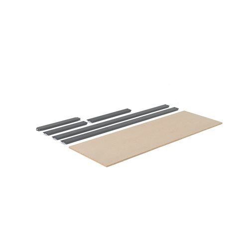 Extra shelf for 'Combo' shelving system: 1840x620 mm