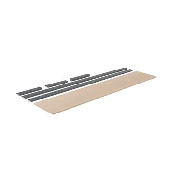 Extra shelf for 'Combo' shelving system: 2440x470 mm