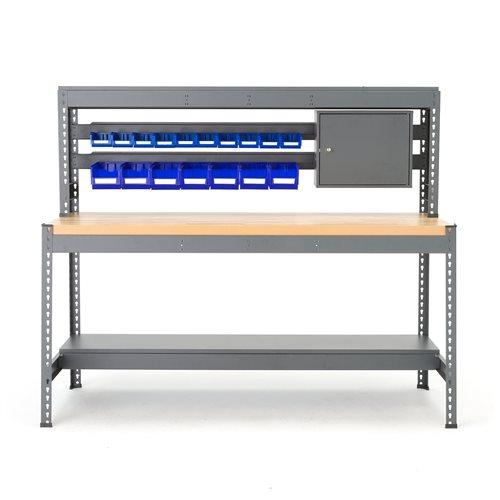 Arbetsbänk Combo med verktygspanel och belysning
