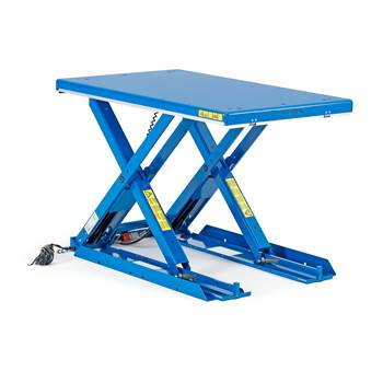 Low lifting table, 1000 kg, 1350x800 mm