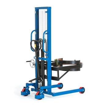 Drum lifter, 120° tilt, 400 kg load