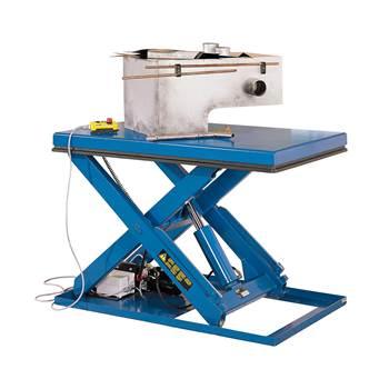 Stół podnoszący, Obciążenie:3000 kg, Wymiary platformy:1800x1000 mm