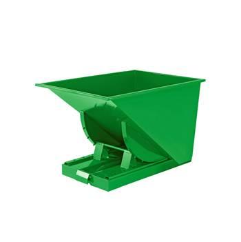 Zielony kontener - wywrotka o pojemności 150 l