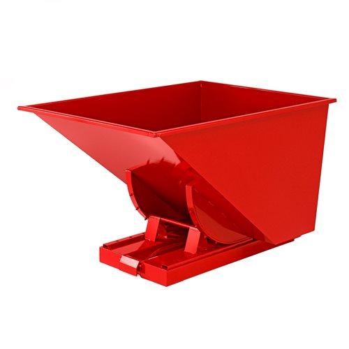 Kippikontti, 900 litraa, punainen