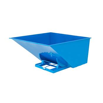 Auto self tipping skip, 2073x1566x1248 mm, 2500 L, blue