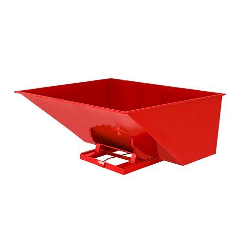 Kippikontti, 3000 litraa, punainen