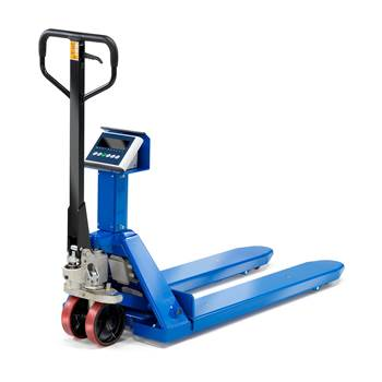 Fork lift scale
