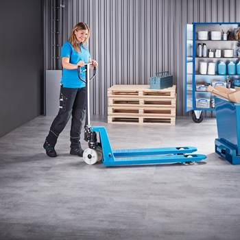 """Transport"" pallet truck: nylon/single nylon wheels"