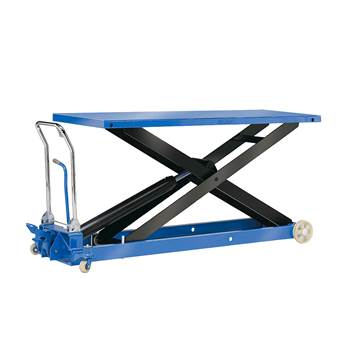 Lift trolley, 1000 kg load, 380-1400 mm lift height