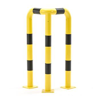 Påkjøringsbeskyttelse, hjørne, (2x600)x1200 mm