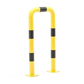 #en Collision barrier, straight, H1200XW600mm, 89mm diam