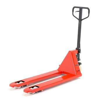 Jekketralle, kapasitet: 2200 kg, gaffellengde: 1150 mm, nylon/boggie