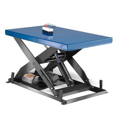 Stół podnoszący, Obciążenie:1000 kg, Rozmiar:1800x800