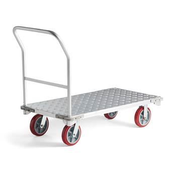 Aluminium platform trolley: 300kg