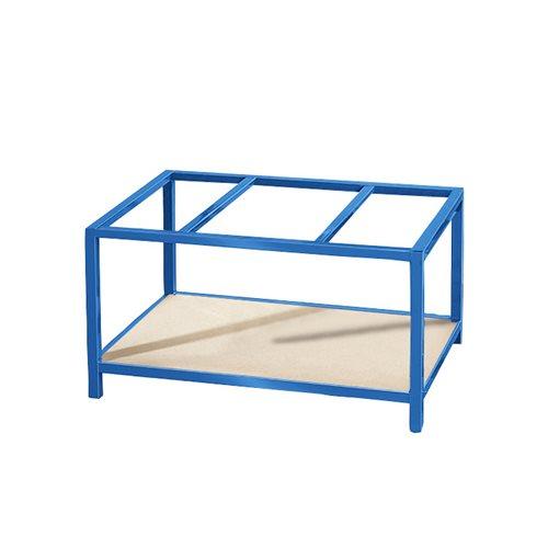 Bottom shelf for pallet trolley/table