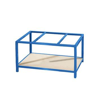 Bottom shelf for pallet trolley/table