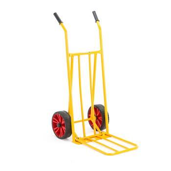 Varastokärry, puhkeamattomat pyörät, 250 kg