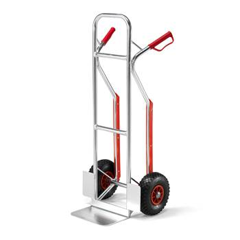 Aluminium sack truck, 150 kg load, 495x1170 mm