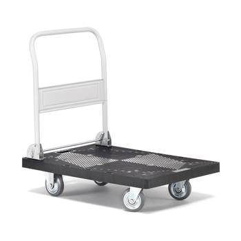 Folding platform trolley, 300 kg load, 600x900 mm