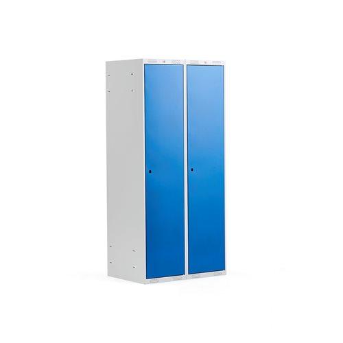 Pukukaappi, tasakatto, 2 osaa, 400 mm, sininen