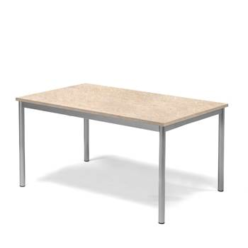#e- Table Pax beige linoleum 1200x800 mm.