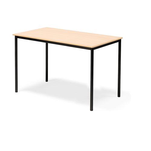 Pöytä Borås, HPL, (KxPxL) 900x1400x800 mm, Musta, Pyökki