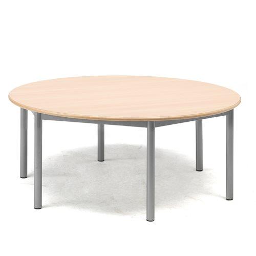 Pöytä Borås, HPL, K 500 mm, Ø1200 mm, Pyökki