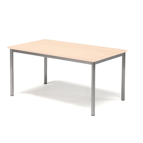 Pöytä Sonitus, Ääntä vaimentava HPL, (KxPxL) 600x1200x700 mm