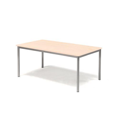 Pöytä Sonitus, Ääntä vaimentava HPL, (KxPxL) 600x1400x800 mm